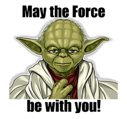 Star Wars Yoda Stickers Collection 9