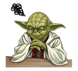 Star Wars Yoda Stickers Collection 11