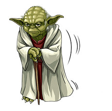 Star Wars Yoda Stickers Collection 12