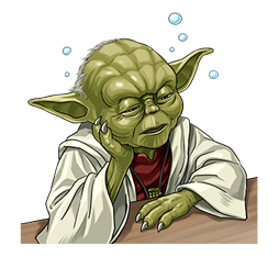 Star Wars Yoda Stickers Collection 17