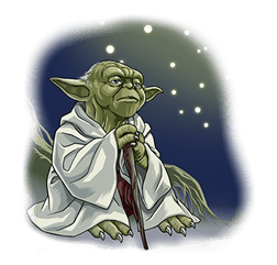 Star Wars Yoda Stickers Collection 20