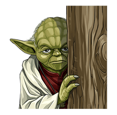 Star Wars Yoda Stickers Collection 21