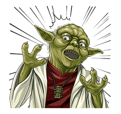 Star Wars Yoda Stickers Collection 27