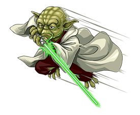 Star Wars Yoda Stickers Collection 28