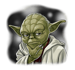 Star Wars Yoda Stickers Collection 30