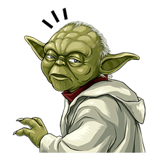 Star Wars Yoda Stickers Collection 31