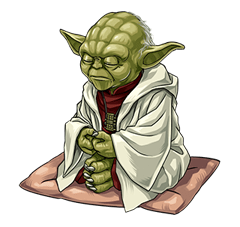 Star Wars Yoda Stickers Collection 34