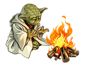 Star Wars Yoda Stickers Collection 36