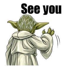 Star Wars Yoda Stickers Collection 37