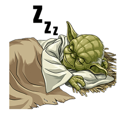 Star Wars Yoda Stickers Collection 38