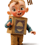 Den Boxtrolls Sticker 4