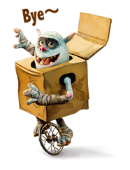 The Boxtrolls Sticker 3