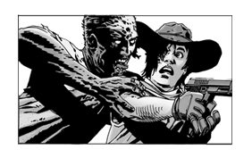 The Walking Dead Sticker 7
