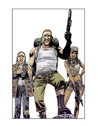 The Walking Dead Sticker 9