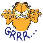 Garfield Stickers 24