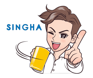 Sticker vita di Singha 7