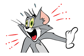 Tom And Jerry Sticker 18