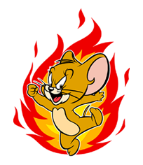 Tom And Jerry Sticker 30