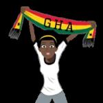 Футбол шарфы (G-U) наклейка 2