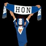 bufandes de futbol (G-U) etiqueta engomada 5