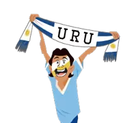 Soccer Scarves (G-U) Sticker 23