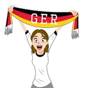 Soccer Scarves (G-U) Sticker 27