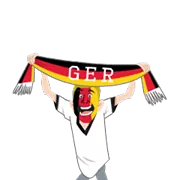 Soccer Scarves (G-U) Sticker 28