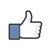 Likes Officiele Facebook Sticker 1