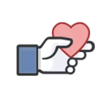 Kan lide officielle Facebook Sticker 4