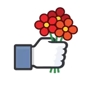 Likes Officiele Facebook Sticker 6