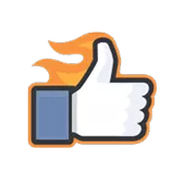 Likes Official Facebook Sticker 9