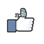 Likes Officiele Facebook Sticker 11