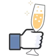 Likes Officiele Facebook Sticker 12