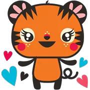Tigerbell Sticker 1
