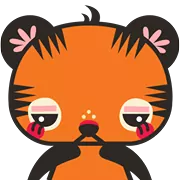 Tigerbell Sticker 14