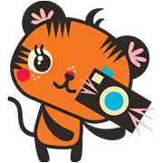 Tigerbell Sticker 23