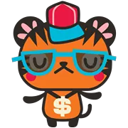 Tigerbell Sticker 29