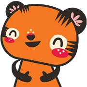Tigerbell Sticker 33