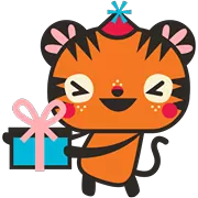 Tigerbell Sticker 37