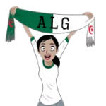 Футбол шарфи (A-F) наклейка 26
