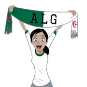 Soccer Scarves (A-F) Sticker 26