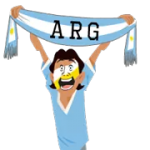 Soccer Scarves (A-F) Sticker 29