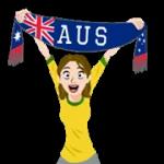Футбол шарфы (A-F) наклейка 30