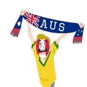 Soccer Scarves (A-F) Sticker 31