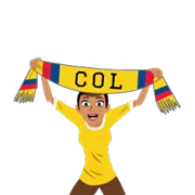 Soccer Scarves (A-F) Sticker 12