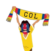 Soccer Scarves (A-F) Sticker 13