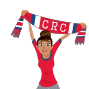 Soccer Scarves (A-F) Sticker 14