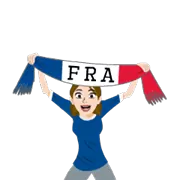 Soccer Scarves (A-F) Sticker 20