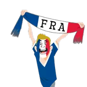 Soccer Scarves (A-F) Sticker 21