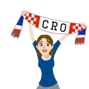 Soccer Scarves (A-F) Sticker 25